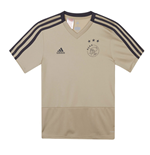2018-2019 Ajax Adidas Training Shirt (Raw Gold) - Kids