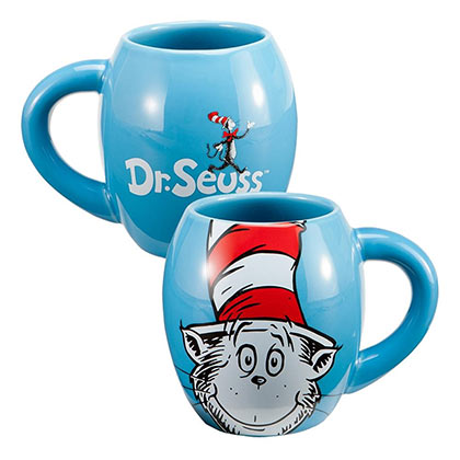 DR. SEUSS Cat In The Hat 18oz Stoneware Coffee Mug