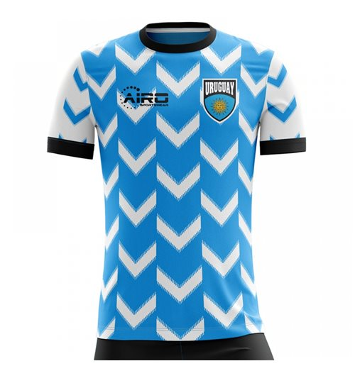 2018-2019 Uruguay Home Concept Football Shirt (Kids) for only C ...