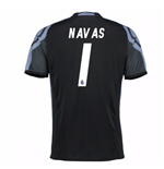 2016-17 Real Madrid 3rd Shirt (Navas 1) - Kids