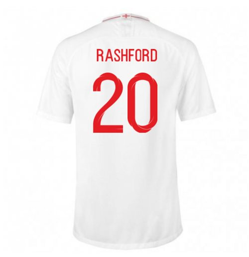2018-2019 England Home Nike Football Shirt (Rashford 20)