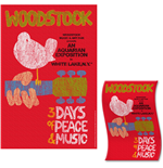 Woodstock Textile Poster: Classic Vintage Poster
