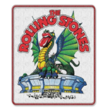 The Rolling Stones Standard Patch: Dragon (Iron On)