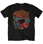 The Rolling Stones Men's Tee: Retro 70s Vibe (Soft-Hand Inks)
