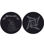 Metallica Slipmat Set: The Black Album