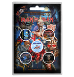Iron Maiden Button Badge Pack: Later Albums