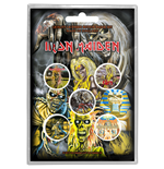 Iron Maiden Button Badge Pack: Early Albums