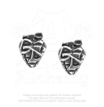Green Day Stud Earrings: Grenade