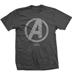 Marvel Comics Men's Tee: Avengers Infinity War A Icon