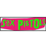 The Sex Pistols Super Strip Patch: Logo
