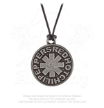 Red Hot Chili Peppers Pendant: Asterisk Circle