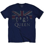 Queen Men's Tee: Union Jack (Retail Pack)