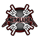Metallica Standard Patch: Metal Horns (Loose)