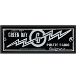 Green Day Standard Patch: Pirate Radio (Loose)