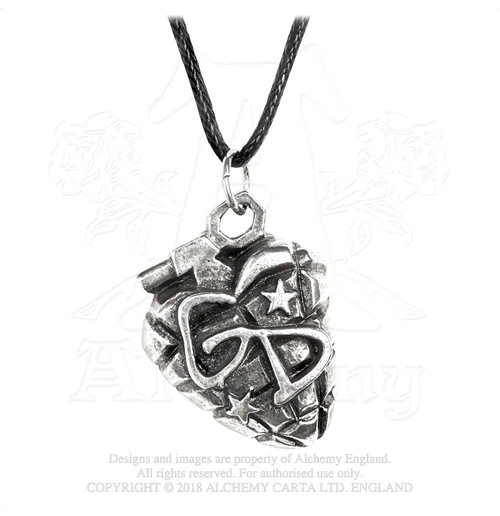 Green Day Pendant: Grenade