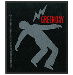 Green Day Standard Patch: Lightning Bolt (Packed)