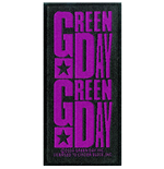 Green Day Standard Patch: Purple Logo (Loose)