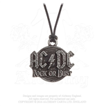 AC/DC Pendant: Rock or Bust