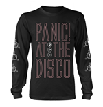 PANIC! At The Disco Long Sleeves T-shirt Outline Name