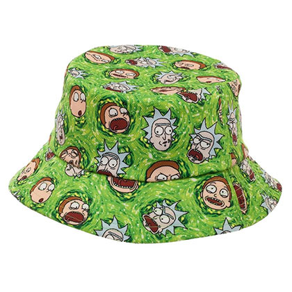 Rick And Morty Cartoon Network Portal Bucket Hat
