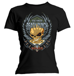 Five Finger Death Punch Ladies Tee: Trouble