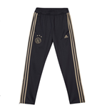 2018-2019 Ajax Adidas Training Presentation Pants (Carbon) - Kids