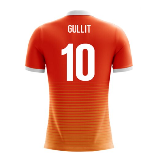 2018-19 Holland Airo Concept Home Shirt (Gullit 10)