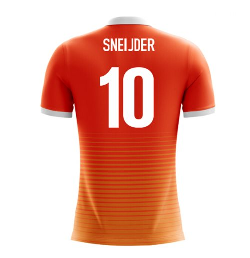 2018-19 Holland Airo Concept Home Shirt (Sneijder 10) - Kids
