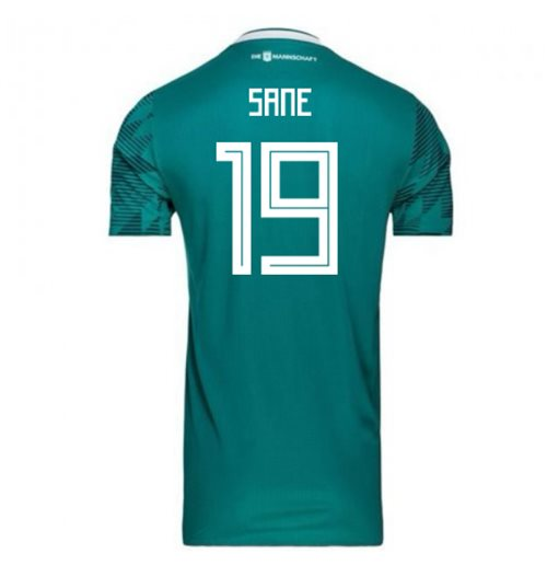 2018-2019 Germany Away Adidas Football Shirt (Sane 19) - Kids