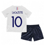 2018-2019 France Away Nike Baby Kit (Lacazette 10)