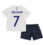 2018-2019 France Away Nike Baby Kit (Griezmann 7)