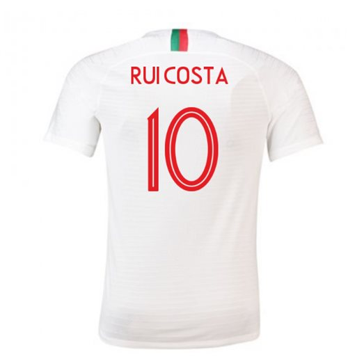 2018-2019 Portugal Away Nike Football Shirt (Rui Costa 10)