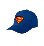Superman - Logo Baseball Cap - Headwear Blue