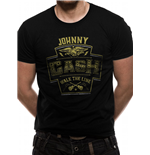 Johnny Cash - Walk The Line - Unisex T-shirt Black