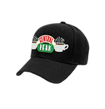 Friends - Central Perk Logo Baseball Cap - Headwear Black