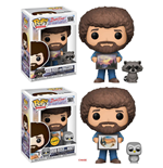 The Joy of Painting POP! Television Vinyl Figures 9 cm Bob Ross with Raccoon Assortment (6)