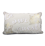 Beauty and the Beast Pillow Be Our Guest 50 cm