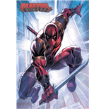 Deadpool - Action Pose Poster Maxi (61x91,5 Cm)