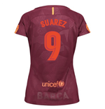 2017-18 Barcelona Third Women Shirt (Suarez 9)