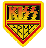 KISS Standard Patch: Kiss Army (Loose)