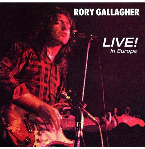 Vynil Rory Gallagher - Live In Europe
