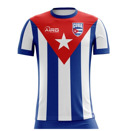 2018-2019 Cuba Home Concept Football Shirt for only C$ 61.60 at ...