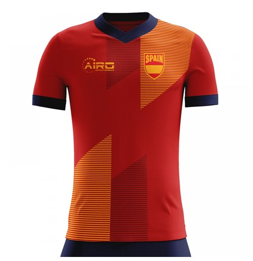 2018-2019 Spain Home Concept Football Shirt for only C$ 61.74 at ...