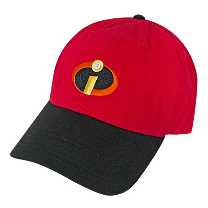 The INCREDIBLES Classic Logo Adjustable Hat