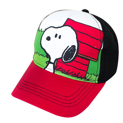 SNOOPY Dog House Full Color Youth Hat