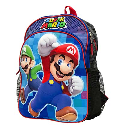 MARIO Brothers MARIO and Luigi Brothers Backpack