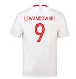 2018-19 Poland Home Shirt (Lewandowski 9)