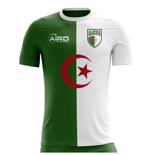 2018-2019 Algeria Home Concept Football Shirt for only C$ 61.65 at ...