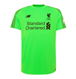 2018-2019 Liverpool Away Short Sleeve Goalkeeper Shirt (Green)