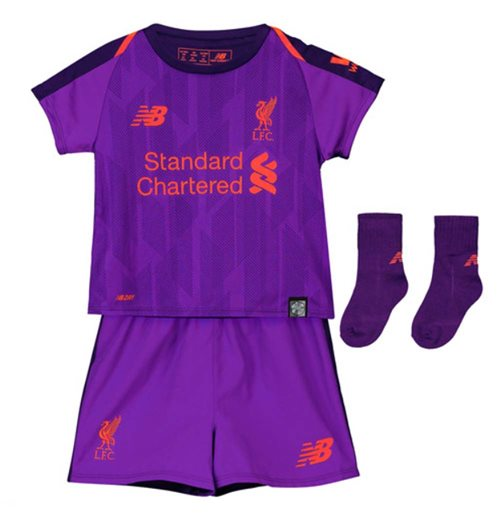 sports shoes 4c204 81979 2018-2019 Liverpool Away Baby Kit